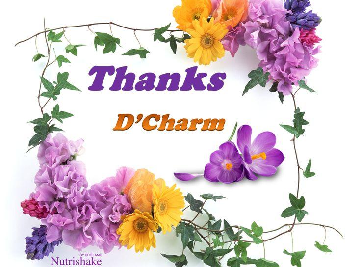 Thanks d'Charm