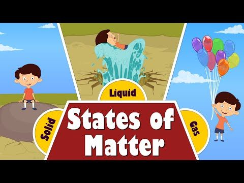 States of Matter - Solid, Liquid, Gases. Interesting Animated Lesson For Children - YouTube