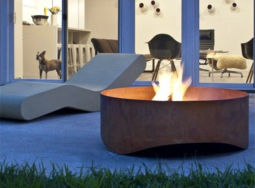 Plodes Wave Outdoor Fire Pit — ACCESSORIES -- Better Living Through Design