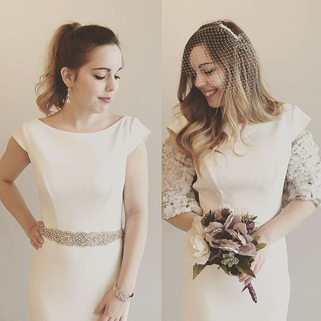@mikaellabridal | Modern meets vintage all thanks to the right accessories! Let us know in the comments how you would style your #Mikaella wedding gown! #fashionfriday www.mikaellabridal.com