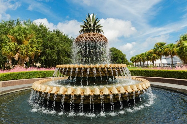 Photo Gallery - Charleston SC Hotel - Vendue Inn | Vendue InnCharms Fountain Sets, Charleston Awards Win, Waterfront Parks, American South, Charleston Sc, Awards Win Waterfront, Beautiful Places, Amazing Fountain, South Carolina