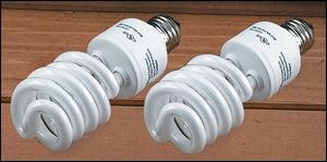 $21.50; 2 pack Verilux® Full-Spectrum Compact Fluorescent Bulbs - Gardening