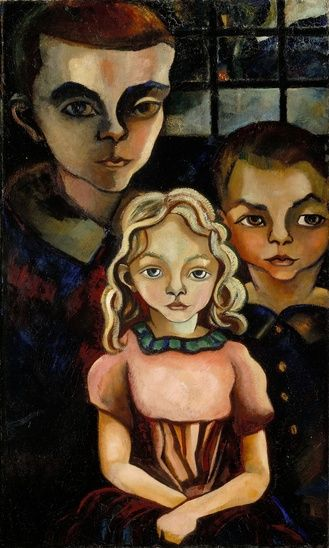 1920 drie kinderen