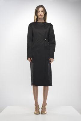 Black Overcoat | Adelina Ivan Studio