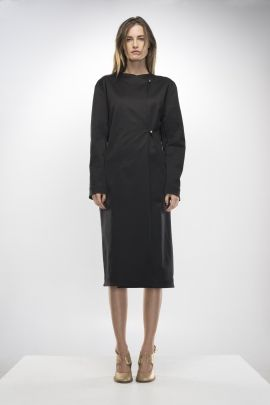 Black Overcoat | Adelina Ivan Studio