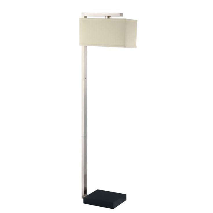coaster company silver floor lamp silver floor lamp metal - Silver Floor Lamp