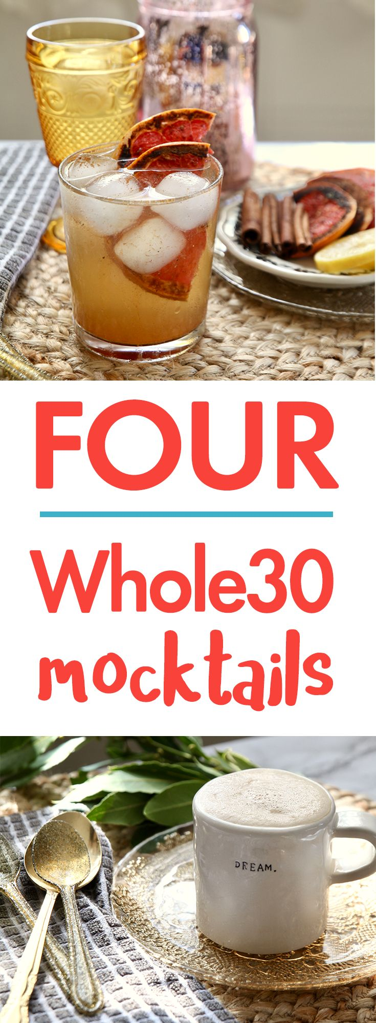 Whole30 New Year's Eve Mocktails for Mama