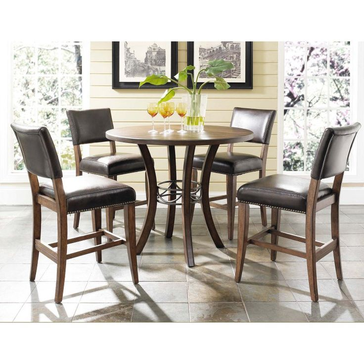 Round Wood Dining Tables
