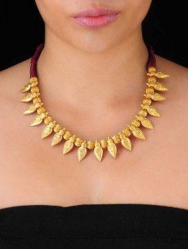 Leaf Silver Necklace