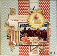 A Project by LUZMA from our Scrapbooking Gallery originally submitted 01/19/14 at 05:38 PM