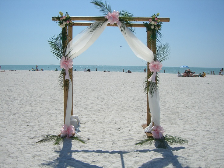 Beach Wedding Arch Ideas: Weddings -- Sirata Style