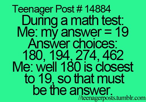 This is so true. Half the time im not in the mood to do it so i write down random numbers and hope for the best haha