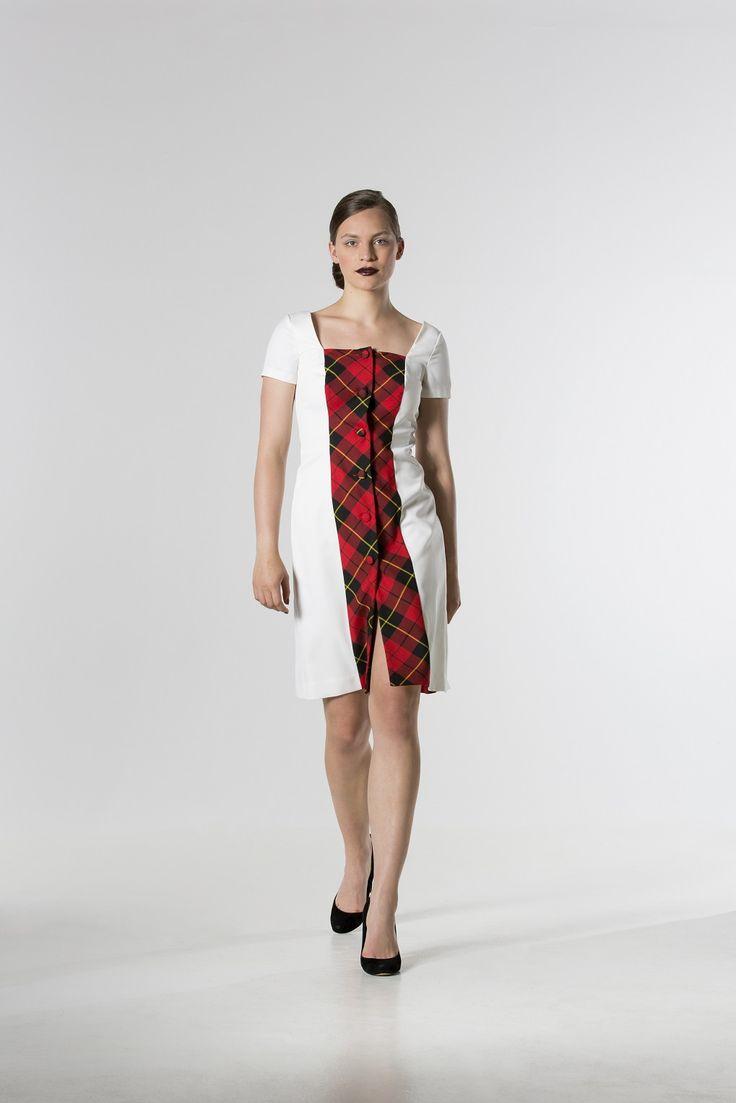 The @ the_daydreamer_ Tartan Panel Dress http://spencerclothing.com
