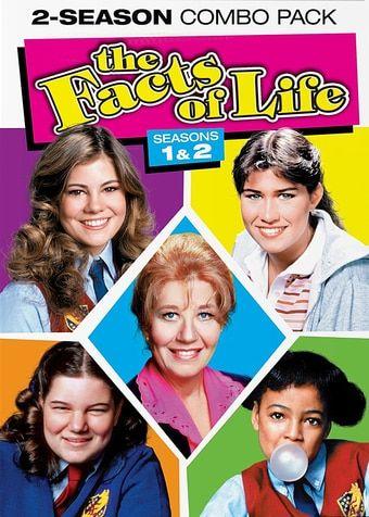 Facts of Life - Seasons 1 & 2 (3-DVD) (2014) - Television on Starring Nancy McKeon, Charlotte Rae, Lisa Whelchel, Kim Fields & Mindy Cohn; Mill Creek Ent $8.98 on OLDIES.com