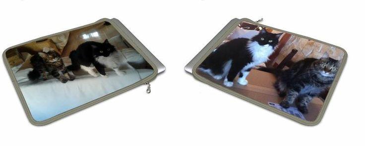 Cover Macbook e tablet con la foto dei propri gattini