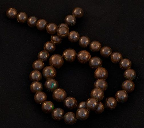 Product No.218 – Queensland Boulder Beads on http://www.opalessence.net.au