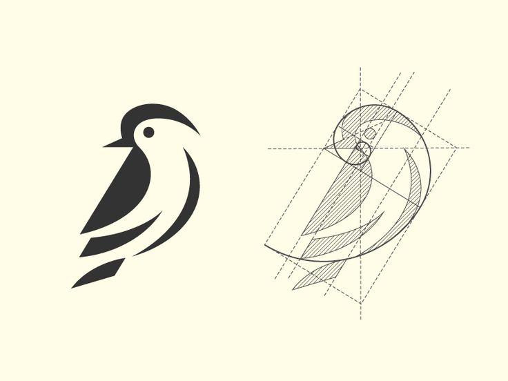 Golden Ratio Bird by Oscar Gil