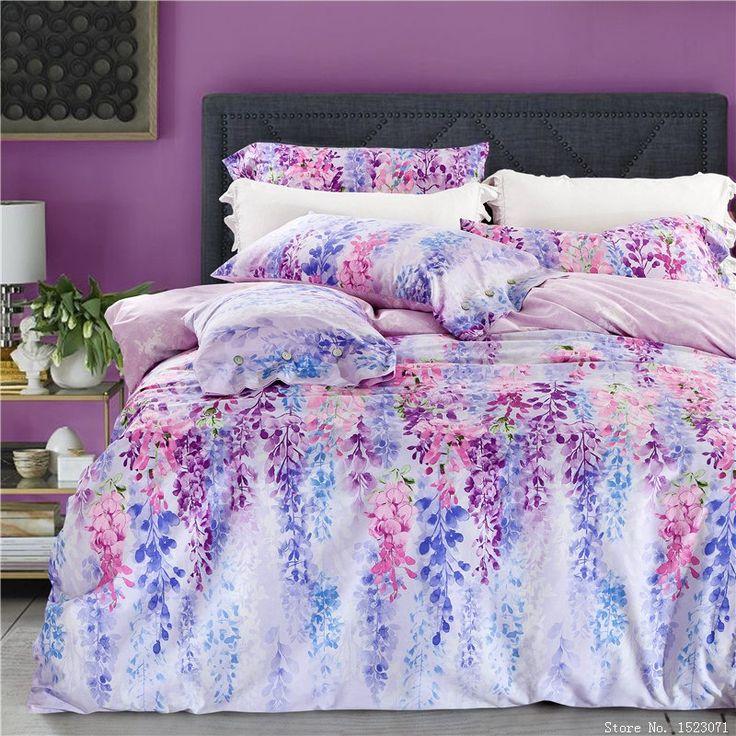 安いヨーロッパ スタイル寝具セット健康綿の花の ベッド リネン布団カバーフラットシート枕カバー キング/クイーン サイズ 4 ピース無料船、購入品質寝具セット、直接中国のサプライヤーから:より多くの商品を購入^を得るために追加の割引、 上の写真のクリック^を購入することを 大きさやはどんなものが含まれる クイーンサイズの( に適した1.3m〜1.8メートル幅ベッド)1個羽毛布団カバー: 20