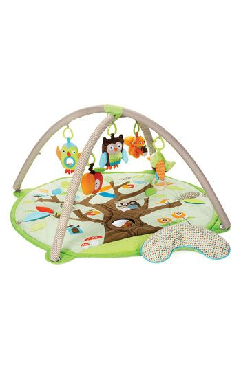 Hours of entertainment! Skip Hop 'Treetop Friends' Activity Gym #Nordstrom #Kids