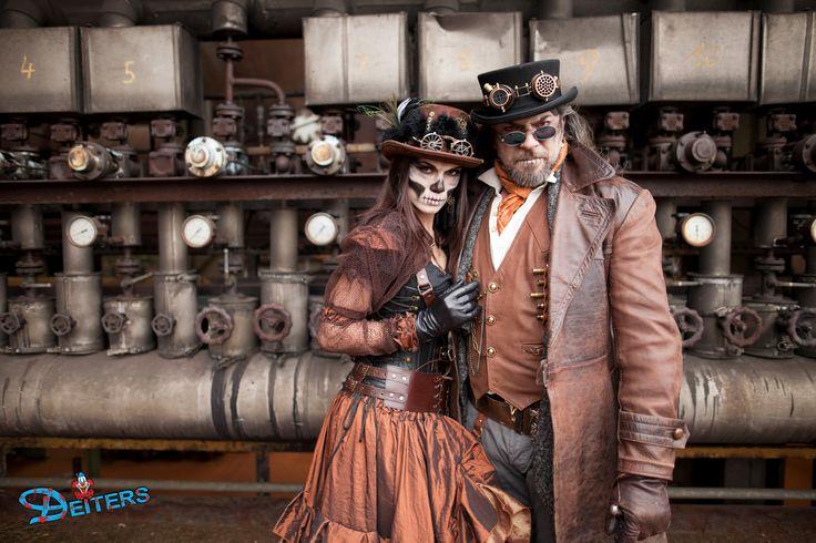 #partnerkostüme #steampunk #behorror #halloween #costumes