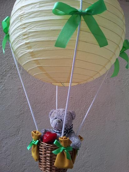 Allegro: Kurus2  Abażur Latający Balon z Misiem