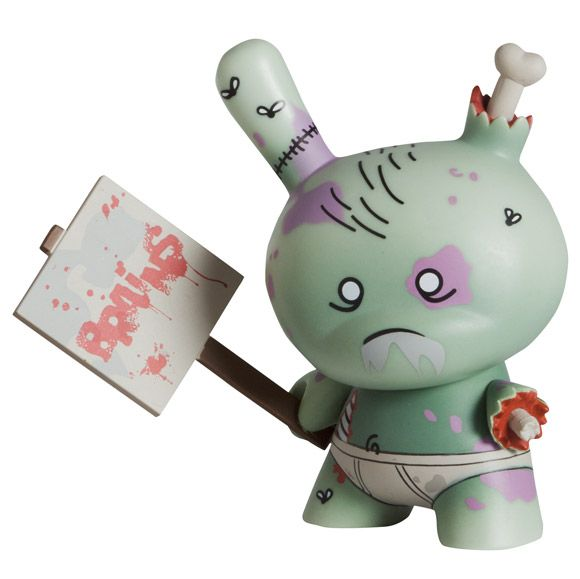 I cannot want to get my hands on this @huckgee zombie Dunny!