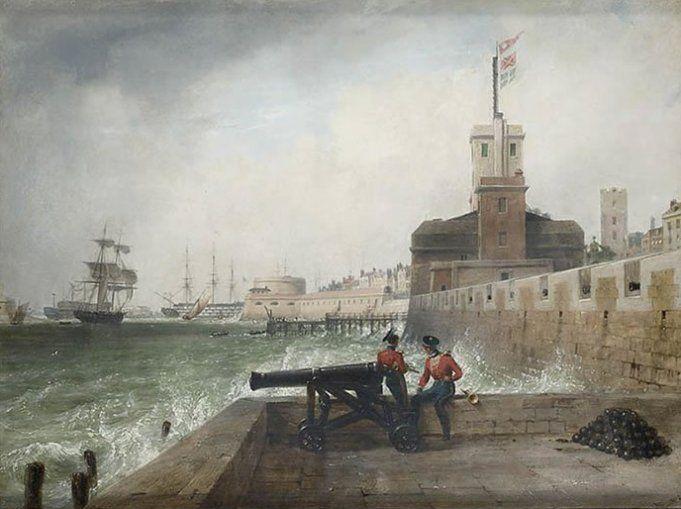 Semaphore at Portsmouth