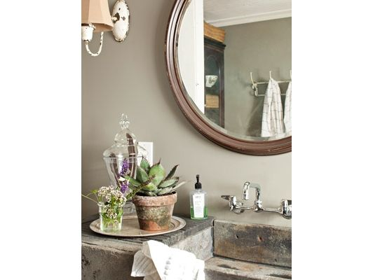 Bathroom Decorating and Design Ideas - Country Bathroom Decor - Country Living - Home and Garden Design Idea's