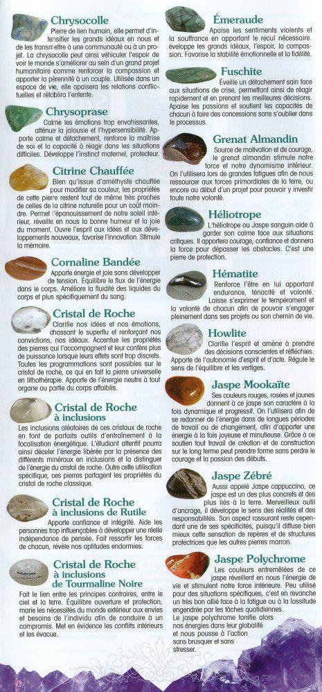 La signification des pierres  (2)                                                                                                                                                                                 Plus