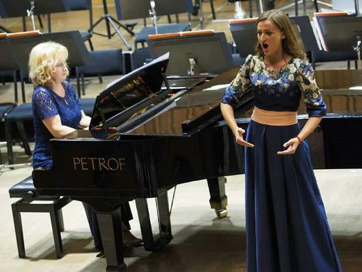 Tatiana Hajzusova  internacional vocal competition 1.prize Olomouc