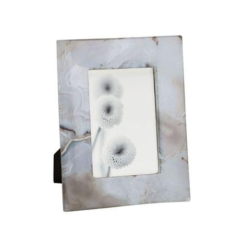 Adriana White Agate Small Photo Frame
