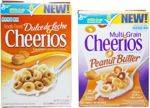 Really? New Cheerios Flavors: Multi Grain Peanut Butter and Dulce de Leche: Peanut Butta, Peanut Butter Cheesecake, Butter Cheerio, Peanut Butterrrrr, Food Nutrition, Food 3, Apples Anyon, Grains Peanut, Peanut Butter So