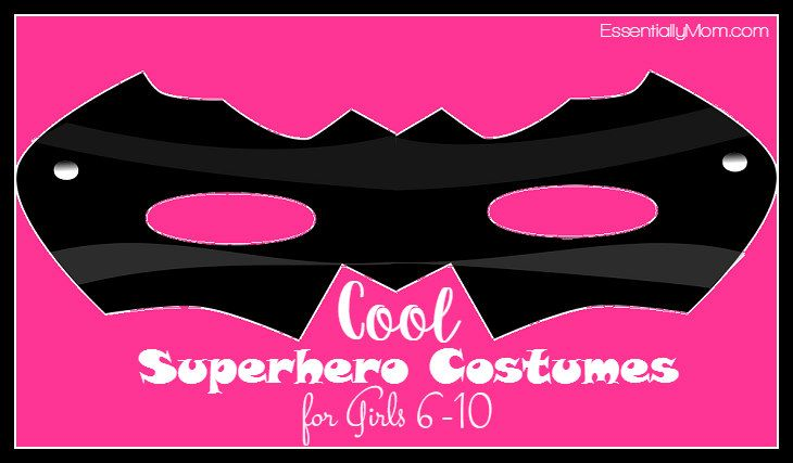 Cool Superhero Costumes for Girls Age 6-10