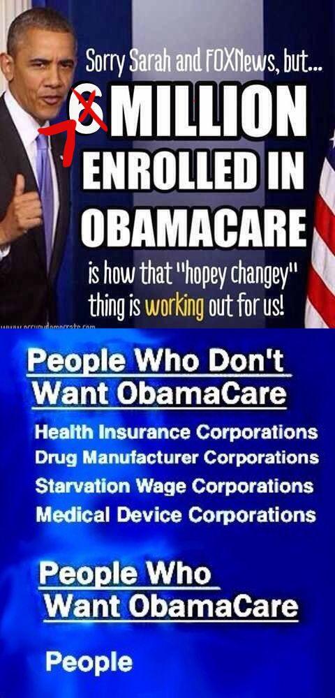 Health Insurance Reform.. HELPS PEOPLE~ NOT CORPORATIONS!! No wonder Republikkka... 1