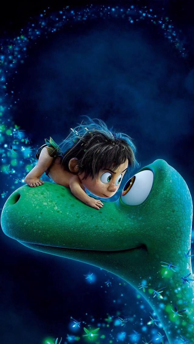 ~ Eyeball to eyeball: Arlo and Spot in a bonding moment from The Good Dinosaur.  My husband loves dinosaurs.  They were never on my radar until I watched this movie.  So cute but with the message of overcoming fear necessary to live. ~