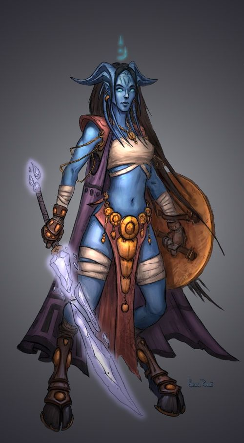 Draenei - WoWWiki - Your guide to the World of Warcraft