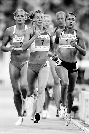 Jess Ennis running, Jess Ennis heptathlon, Tony Minichiello, Jess Ennis training, speedwork, running, jess ennis barcelona
