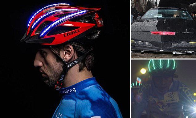 Would you wear the 'Knightrider helmet?' #DailyMail