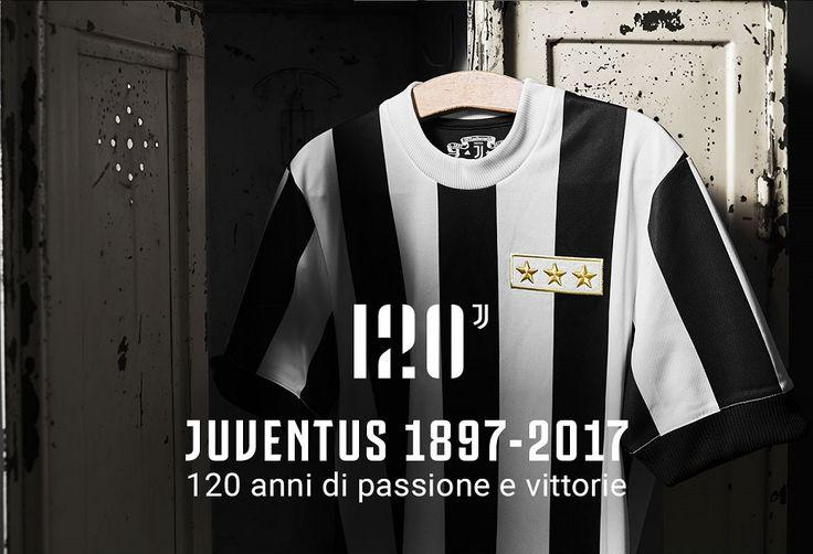 Camisa de 120 anos da Juventus 2017 Adidas