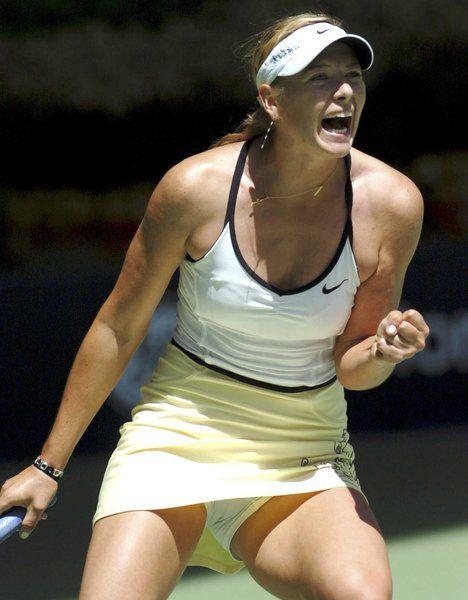 Под юбкой у теннисисток фото