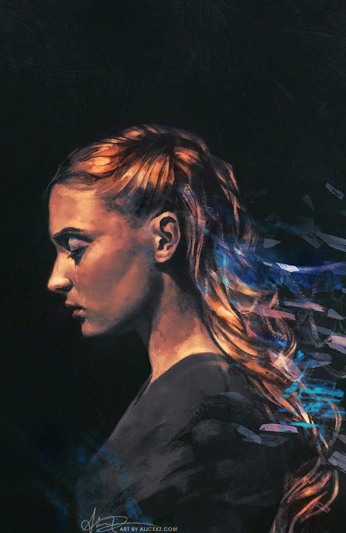 Sansa Stark - Game of Thrones - Alice X. Zhang