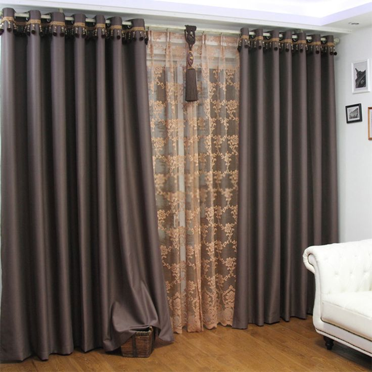 Best 25 extra long curtains ideas on pinterest for Long window curtain ideas