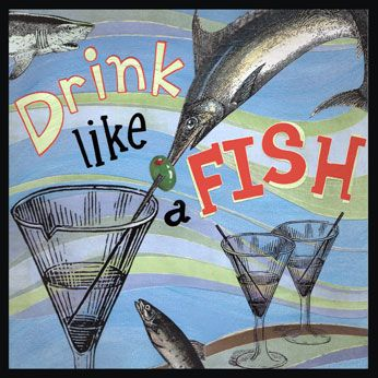 17 best images about english idioms on pinterest for Breath like a fish