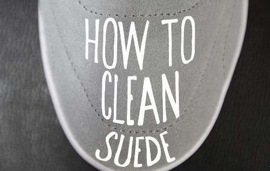 suede shoes how to clean them