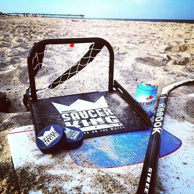Beach day done the right way #SaucerKingGame