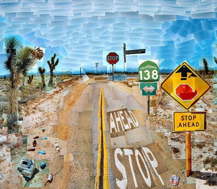 Happy new year everybody may it be great for all of you. Together in 2017 we will build #TheFarm #HackTheArts and emphasize our #Renaissance David Hockney Pearblossom Highway 11-18th April 1986 #2 1986 2017 will be David #Hockney's year with major exhibitions at the #centrepompidou the #tate ... I've chosen 3 emblematic #artworks. Here we are with one of his iconic collage made in 1986. It's a major piece made of several part. The global piece represents a destroyed landscape inspired by…