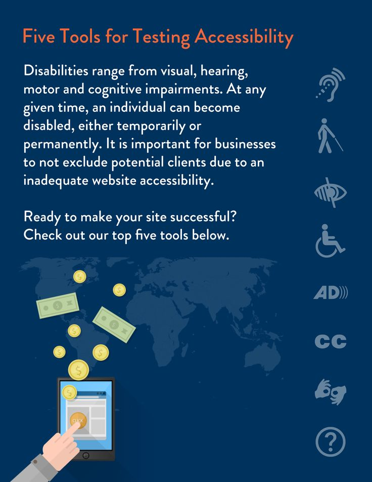 1 in 5 Americans have a disability. It's important to ensure your website is ADA title 3 compliance, sometimes known as being 508 compliant.  To find out how to make your website more compliant download this FREE toolkit