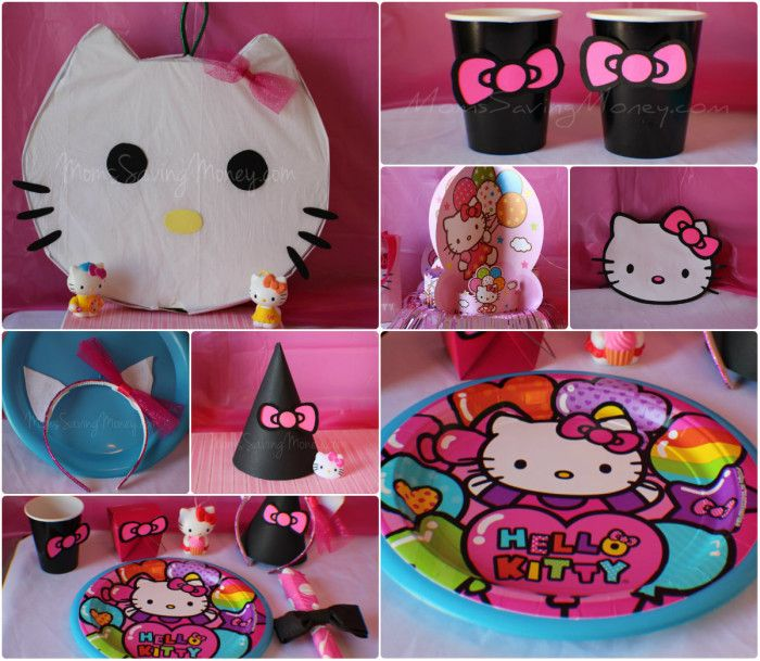 There Are So Many Theme Patterns For Hello Kitty But As Always I Like To Add My Own Splash And Create A Party That Is One Of Kind Little Princess