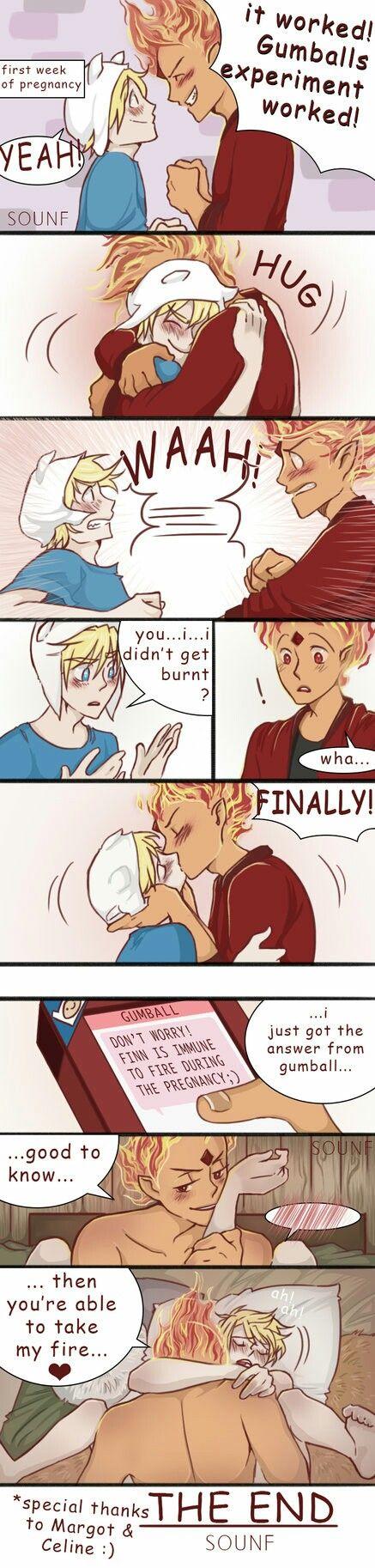 Finn x Flame