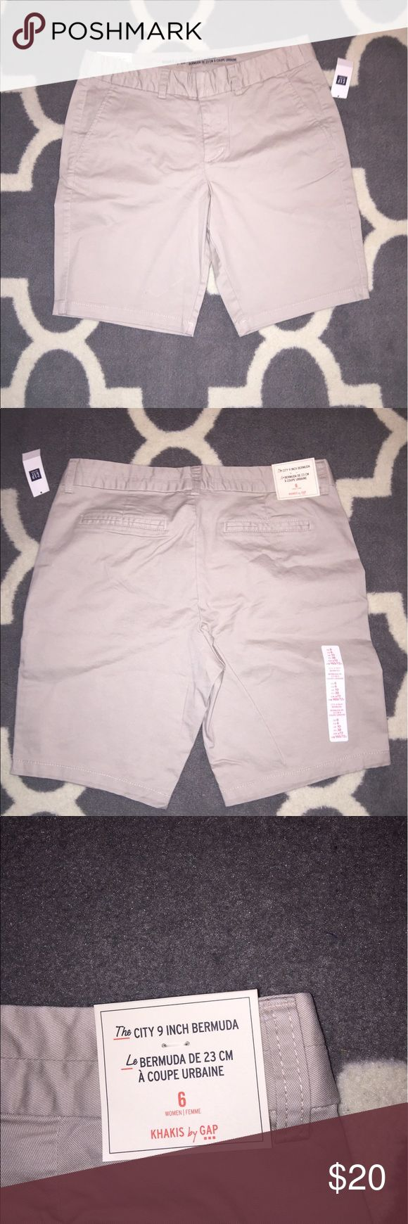 Women gap Bermuda shorts Women gap Bermuda shorts. Size 6. Brand new with tags, from the gap factory, bought this year GAP Shorts Bermudas